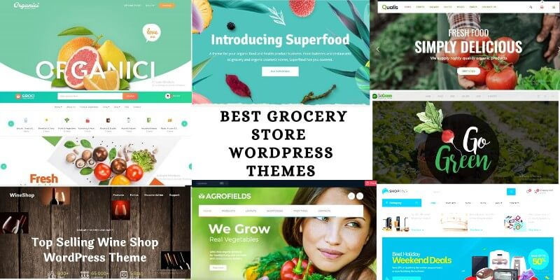 10 Best Grocery Store WordPress Themes