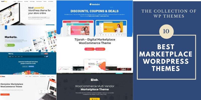 Best Marketplace WordPress Themes