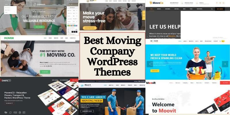 Best Moving Company WordPress Themes