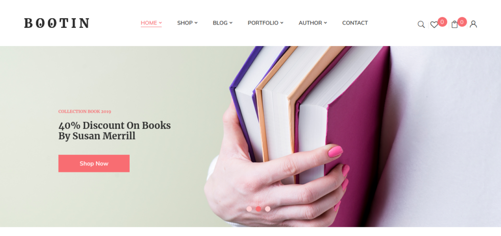 Bootin – Book Store WooCommerce WordPress Theme