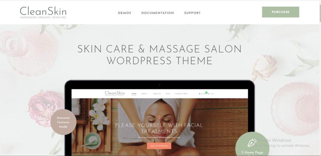 Clean Skin - Handmade Organic Soap & Natural Cosmetics Shop WordPress Theme