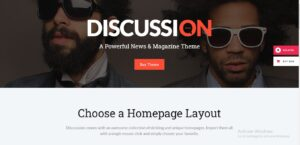 Discussion - News Portal Theme