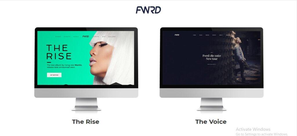 FWRD - Music Band & Musician WordPress Theme