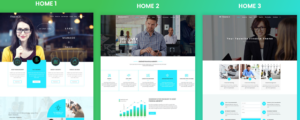Finance consulting theme
