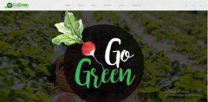 GoGreen- Organic Food, Farm, Market Business WordPress Theme