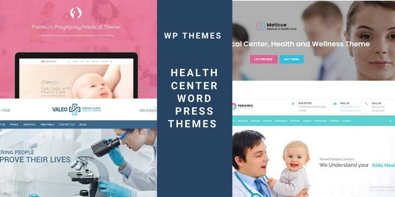 Health Center WordPress Themes