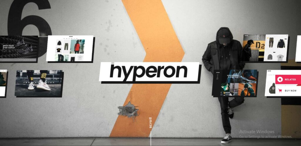 Hyperon - Clothing WooCommerce Theme