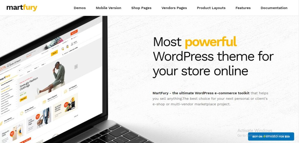 Martfury - Woo Commerce Marketplace WordPress Theme