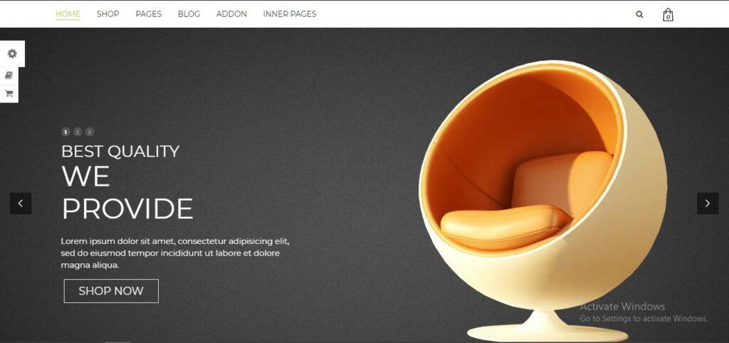 Mebel - Responsive Furniture & Book Store WordPress Theme