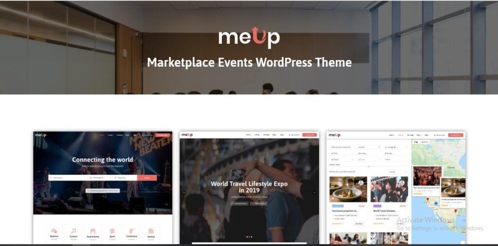 Meup –  Marketplace WordPress Theme