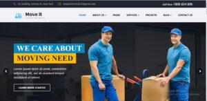 MoveIt - Movers, Relocation, Transportation Company WordPress Theme