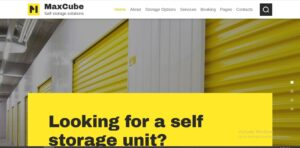Max Cube | Moving & Self-Storage Relocation Business WordPress Theme