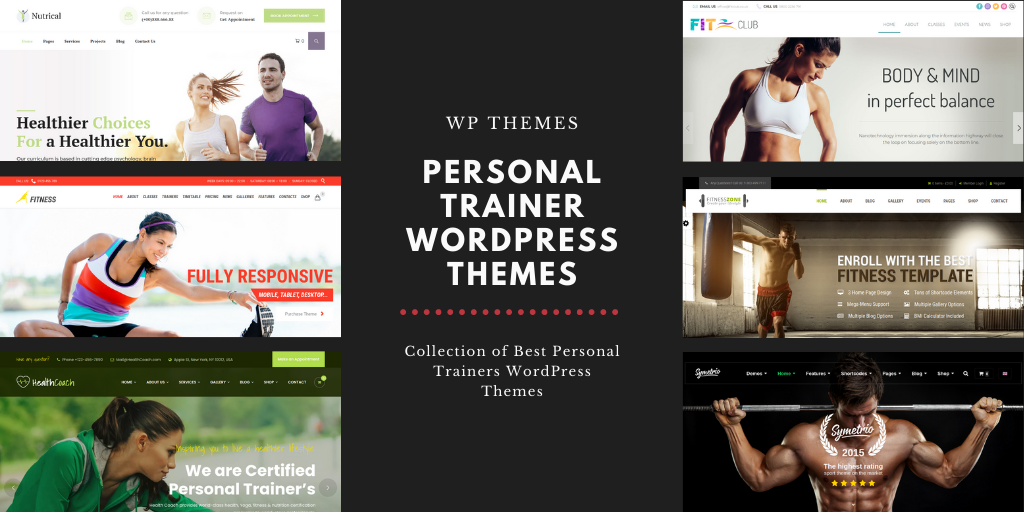 10 Best Personal Trainer WordPress Themes