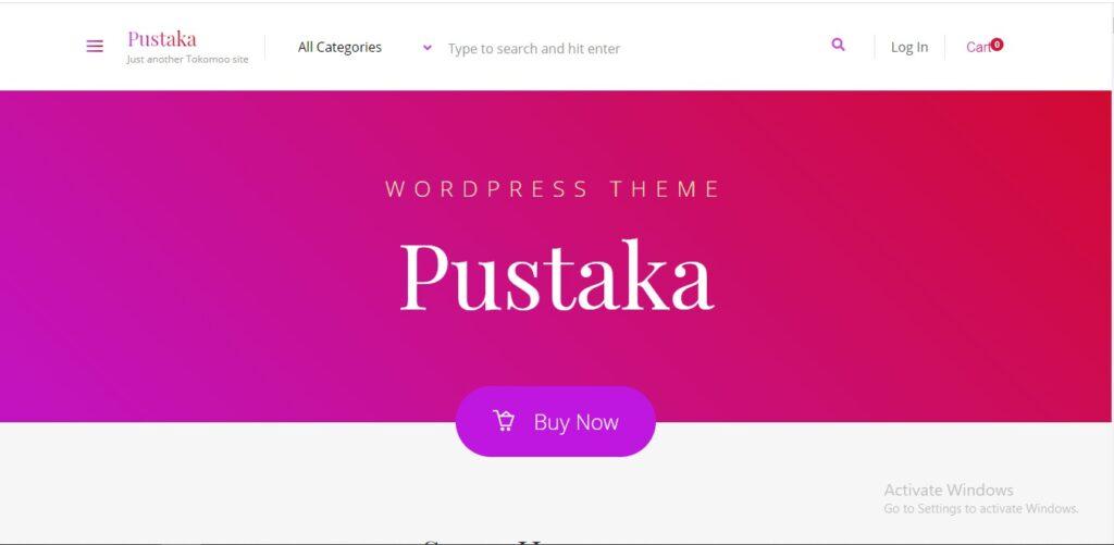 Pustaka-WooCommerce-Theme-For-Book-Store