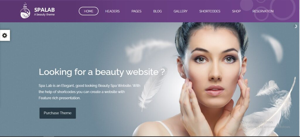 Spa Lab - Beauty Salon, Wellness WordPress Theme
