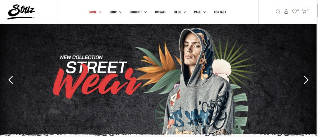 Striz - Fashion Ecommerce WordPress Theme