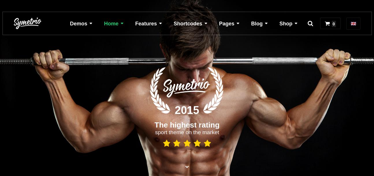 Symetrio – Gym & Fitness WordPress Theme
