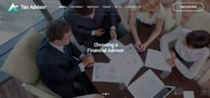 Tax advisor theme