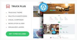 Truck Plus - Transportation and Logistics Service WordPress Theme