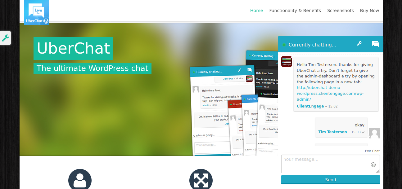 UberChat - The Ultimate Live Chat for WordPress
