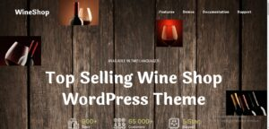 WineShop - Food & Wine Online Delivery Store WordPress Theme