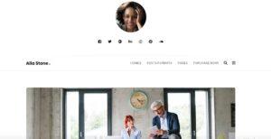 Alia - Minimal Personal Blog