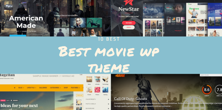 10 Best Movie Review WordPress Themes