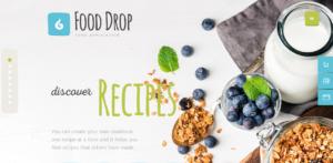food drop theme
