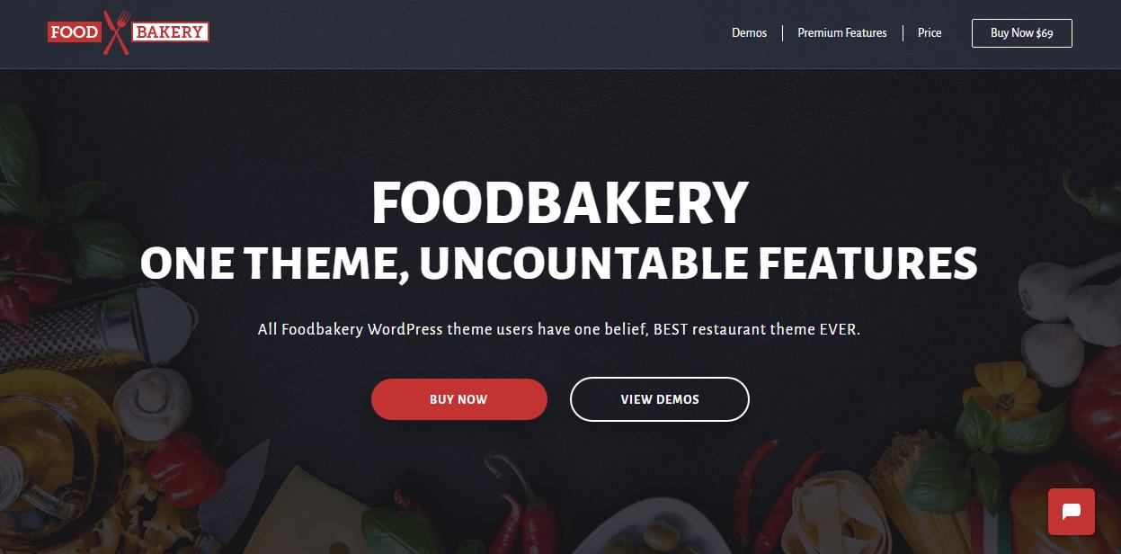 foodbakery theme