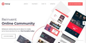 Gwangi - Social Network & Buddy Press Community, PRO Multi-Purpose Membership Theme