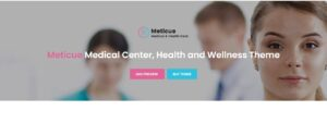 Meticue: Medical and Health Center WordPress Theme