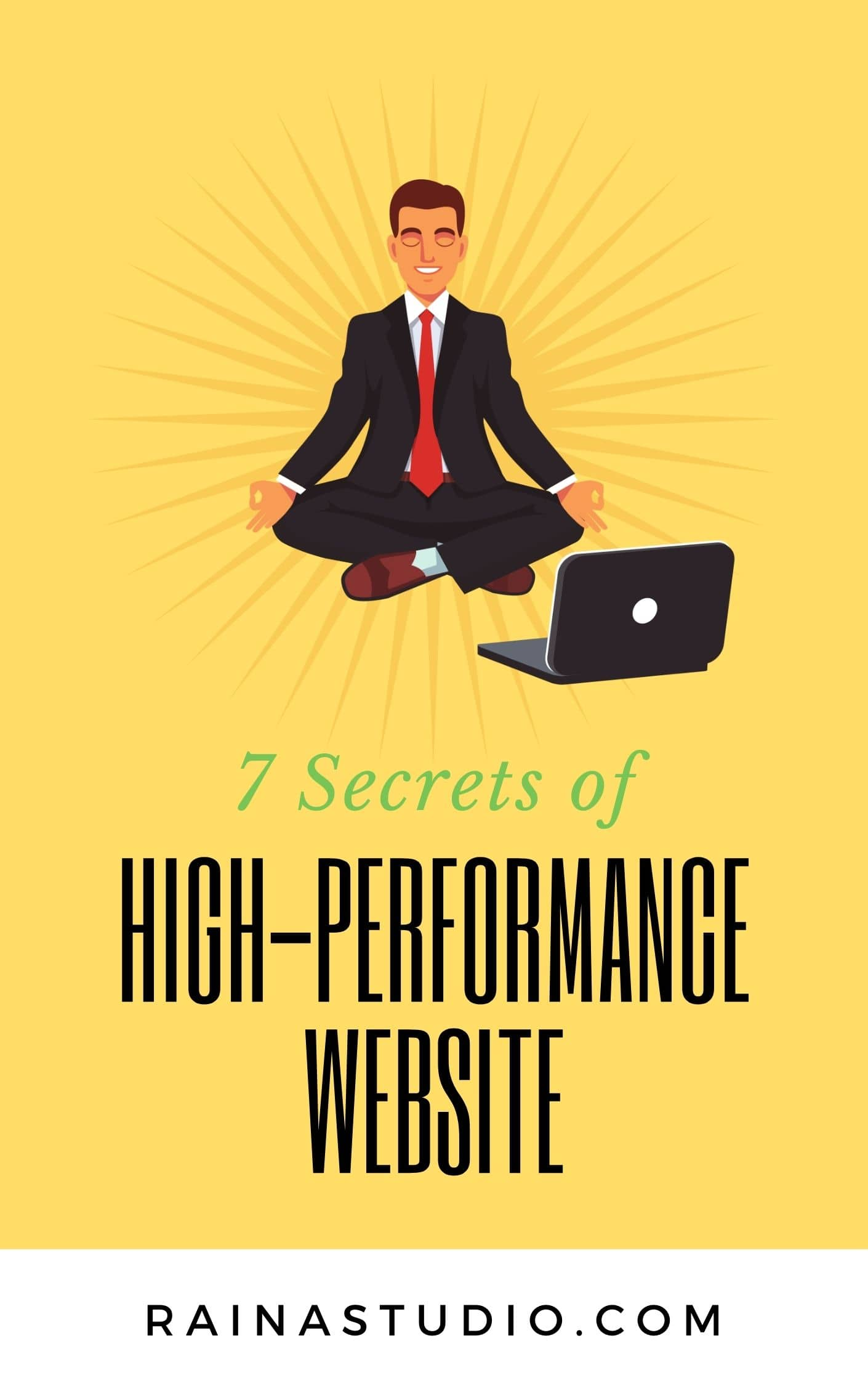 Reveal 7 Secrets of High-Performance Website