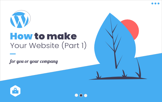 How to make your website part 2 (setting up everything 2