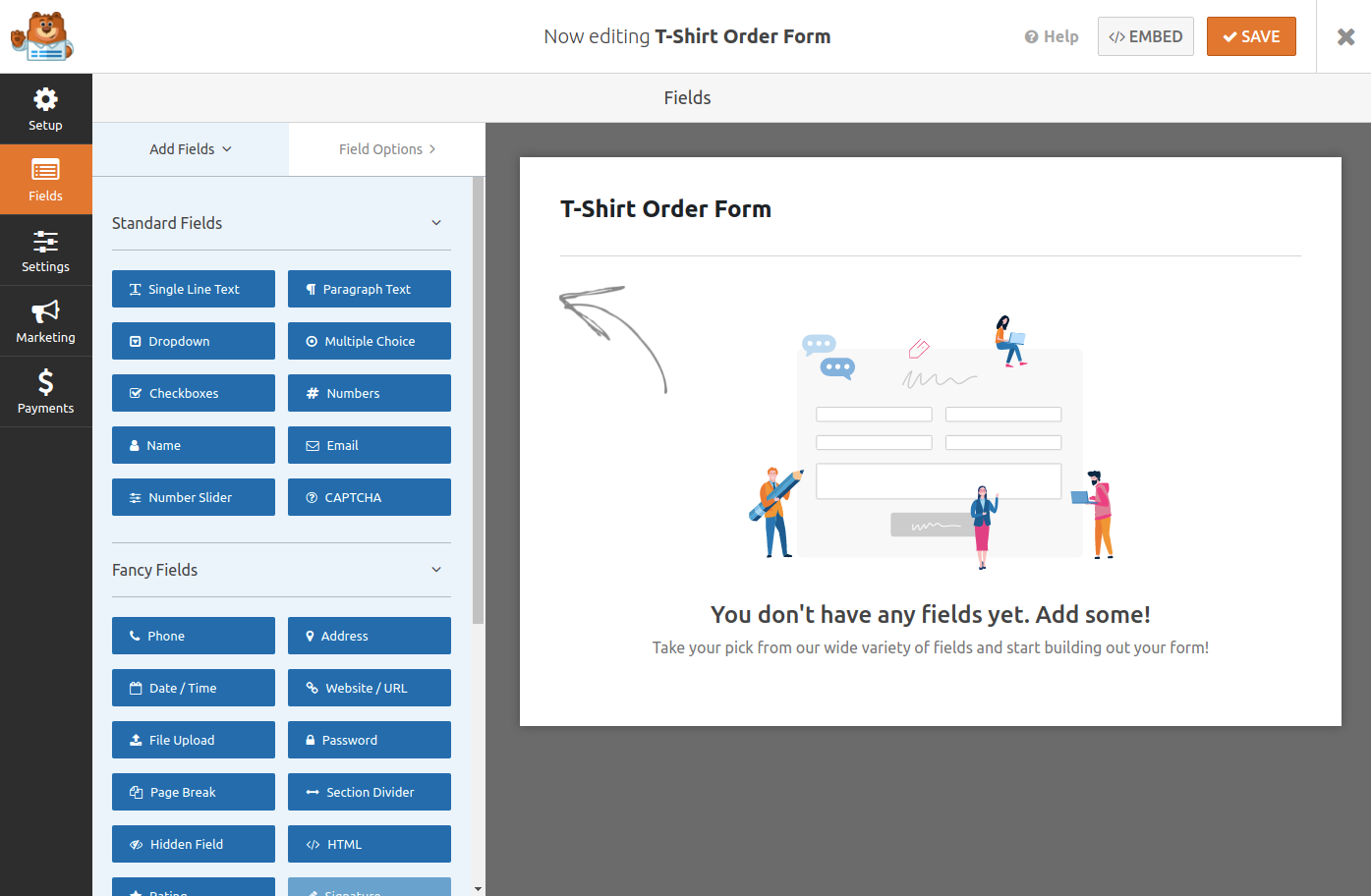 Creating an Order Form in WordPress