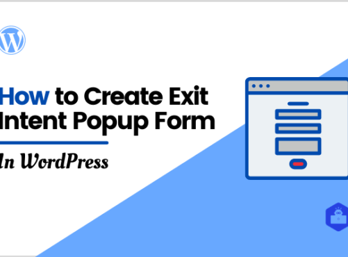 How to Create Exit Intent Popup Form in WordPress