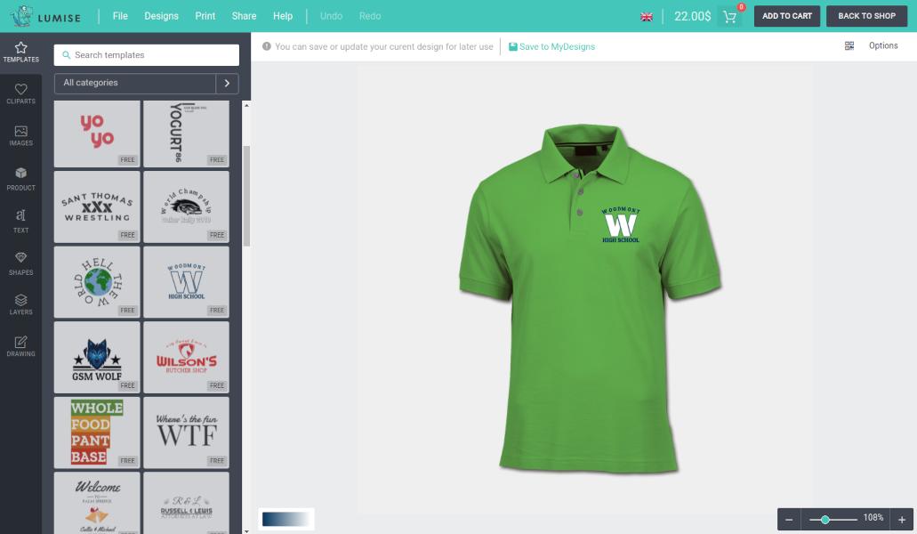 Product Designer for WooCommerce WordPress