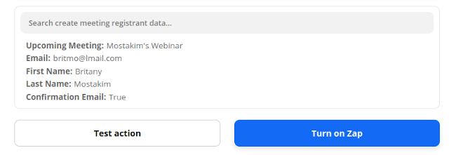 Turn the Zap On - Zoom Webinar