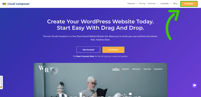 Get Visual Composer Website Builder